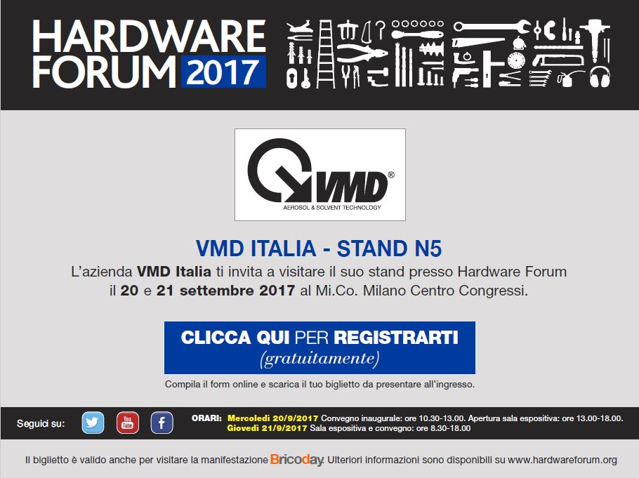 VMD invito